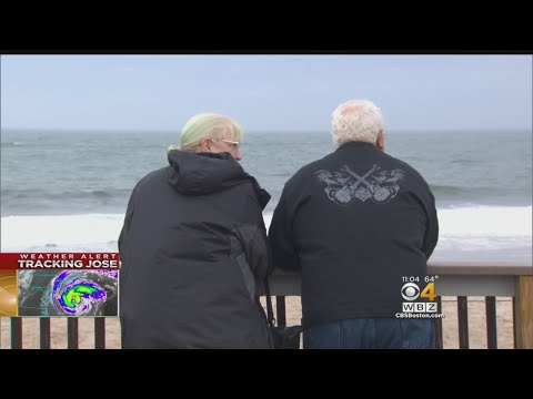 Cape Cod Residents Ready For Tropical Storm Jose