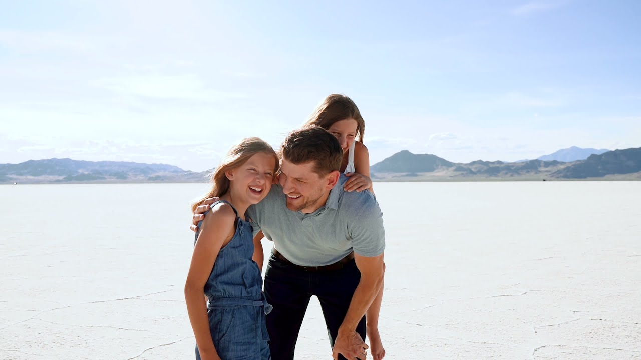 We Traveled to the Salt Flats in UTAH - Tribute to DADDY!