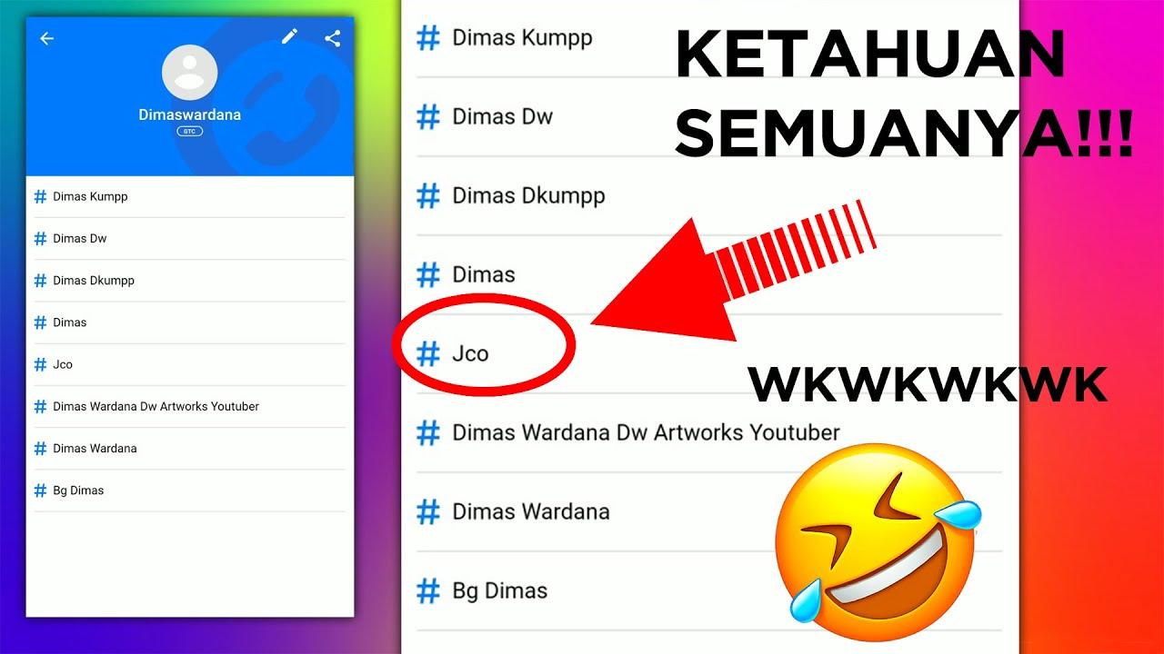 Cara Melihat Nama Kita di Kontak Whatsapp Pacar/Teman