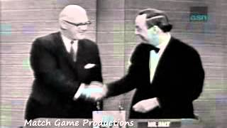What's My Line (1965) (Johnny Olsen Hilarious Mystery Guest Segment)