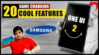 One UI 2: Top 20 Cool Features | Best Interface Ever👍