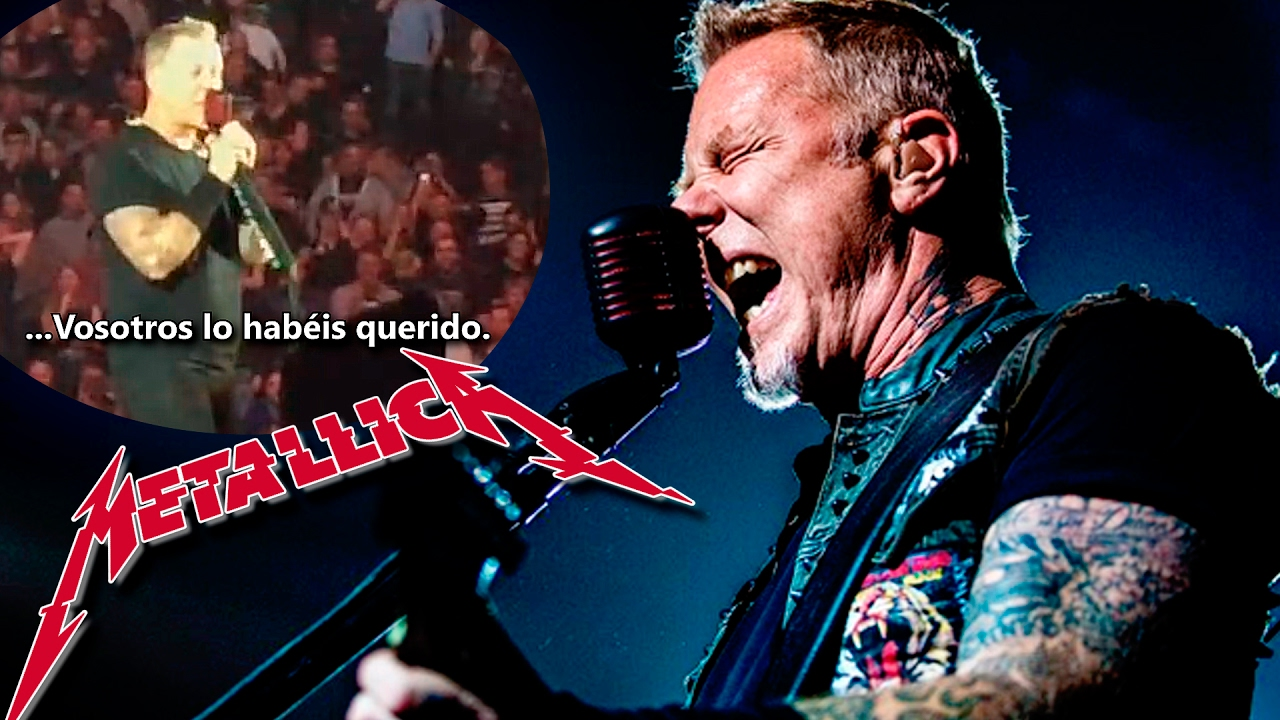 james hetfield feels sick on stage and keeps playing like a boss metallica in copenhagen youtube. Black Bedroom Furniture Sets. Home Design Ideas