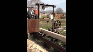Homemade Bandsaw Mill Part 3