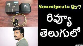 Soundpeats Qy7 bluetooth headset review telugulo