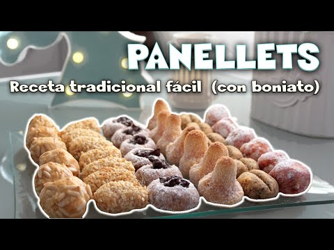 PANELLETS RECETA FÁCIL,