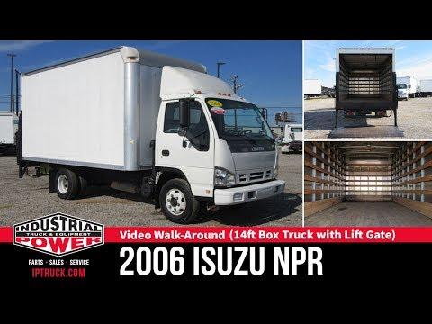 2006 Isuzu NPR 14ft Box Truck with Lift Gate | Truck Review | Dallas Commercial Trucks