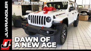 Jl Journal : Dawn Of A New Age - The Wayalife Jeep Jl Wrangler Coming Home