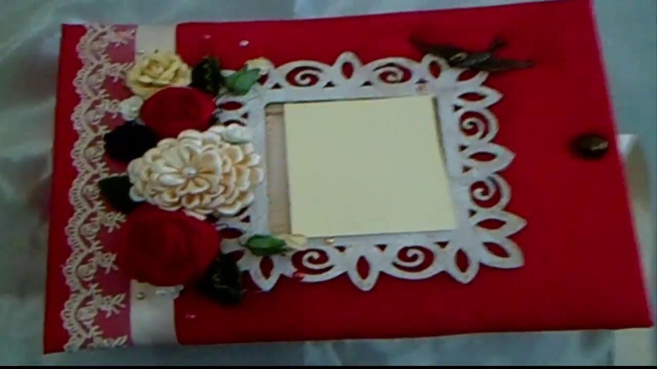 Libro De Firmas Xv Años Rojo