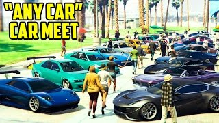 Gta Online Any Car Meet Cinematic Showcase