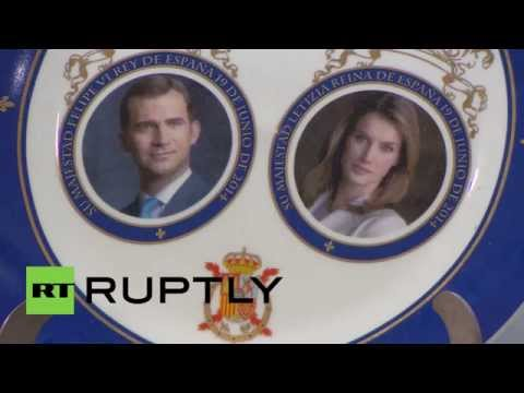 Spain: Monarchy merchandise mania hits Madrid amidst protests