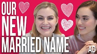 Revealing our Married Name!