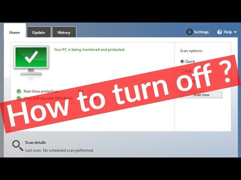 How To Turn Off/Disable Windows Defender Security Center From Windows 10 In Permanently-2019