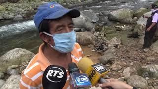 RESTOS DE CUATRO RESES FUERON HALLADAS A LA ORILLA DE UN RIO EN EL CANTÓN SANTA ROSA