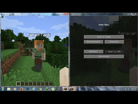 How To Play Minecraft With Friends In Single Player Mod PC 100% WORKING