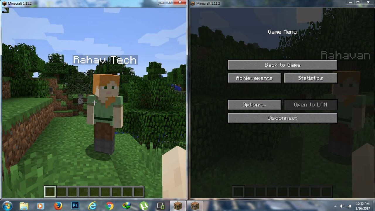 r/Minecraft - How to play Minecraft with a friend on PC/Mac