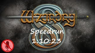 Wizardry 8 expert Any% speedrun (1:10:23) uncommented
