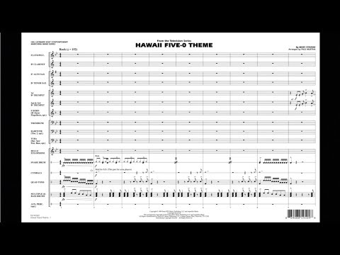 Hawaii Five-O Theme by Mort Stevens/arr. Paul Murtha