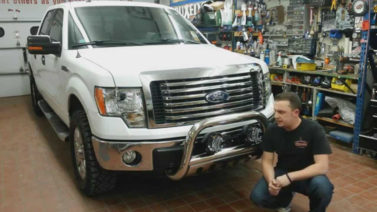 Dee zee bullbar and kc leds off road lights pt 2 youtube aloadofball