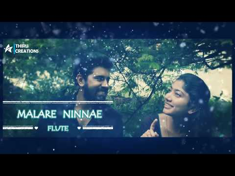Malare Ninnae | Flute Instrumental | Thiru Creations