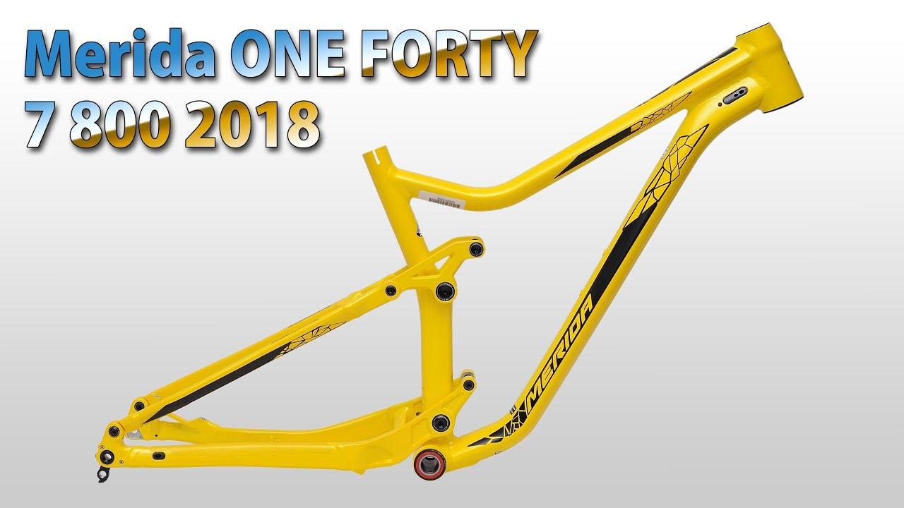 MERIDA One Forty 800 2018 #1 | Frame details - YouTube