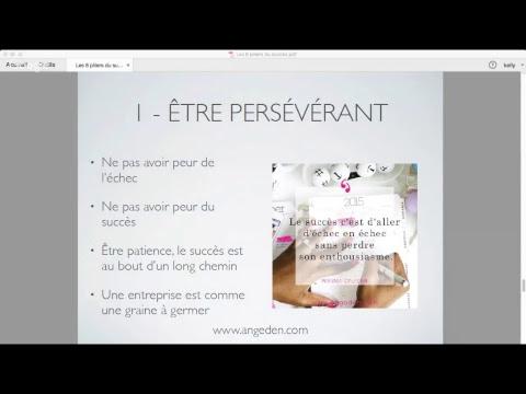 Les 8 piliers des entrepreneurs à succès //Live //