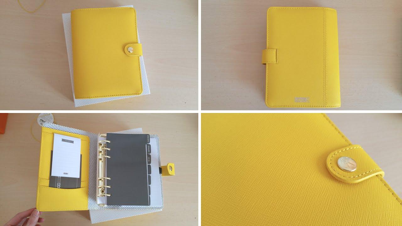 Super Kikki.k Planner Yellow size Medium/Personal - Organiser/Agenda  IN86