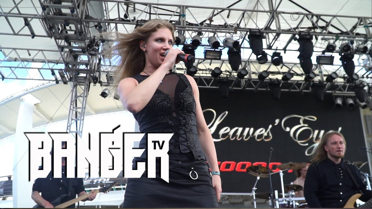 LEAVES' EYES singer Elina Siirala interview at 70,000 Tons of Metal episode thumbnail