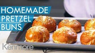 Easy Pretzel Recipe: How to Make Homemade Pretzel Buns | Kenmore Elite OVATION Stand Mixer