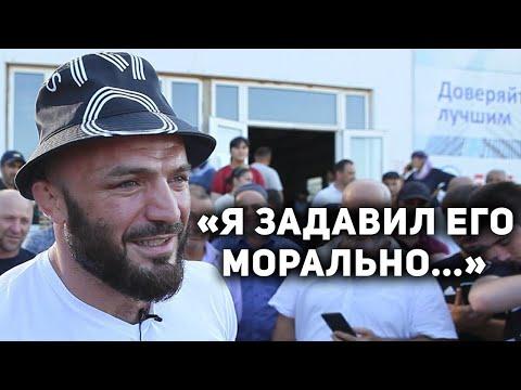 В Дагестане Магомеда Исмаилова встречали самые преданные болельщики