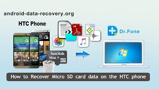 How to Recover Micro SD card data on the HTC phone by HTC Data Recovery