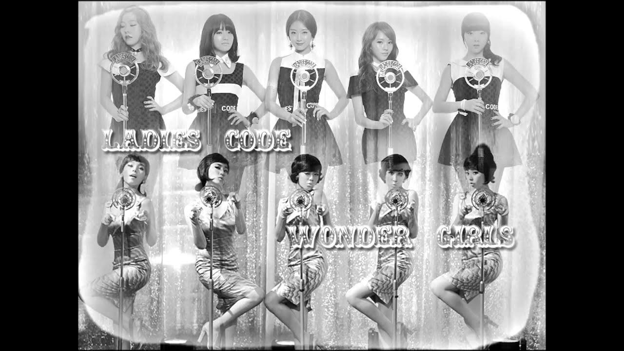 Mashup Wonder Girls Ladies 39 Code Nobody So Wonderful Youtube