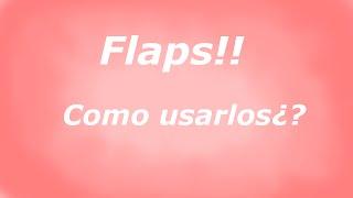 Video TUTORIAL FSX - Como usar los flaps basicamente¿? download MP3, 3GP, MP4, WEBM, AVI, FLV Juni 2018