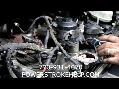 EGR COOLER REPLACEMENT ON 6.0L POWERSTROKE 2 in series