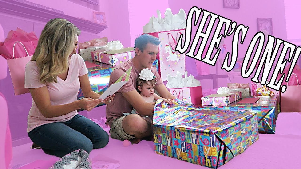 1 Year Old Girl Birthday Party