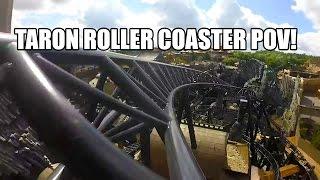 Taron & Raik Roller Coaster POV Onride Klugheim New 2016 Phantasialand Germany