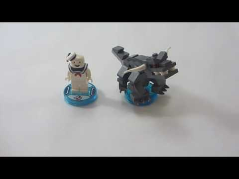 LEGO Dimensions - Stay Puft Fun Pack Review set 71233