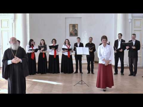 32. Христос Воскресе на молдавском. Архиерейский хор Костромской митрополии