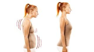 5 упражнений для ровной осанки. Как перестать сутулиться.(5 упражнений для ровной осанки. Как перестать сутулиться? Корректор осанки - https://goo.gl/2Ai7KU., 2016-10-27T14:48:56.000Z)