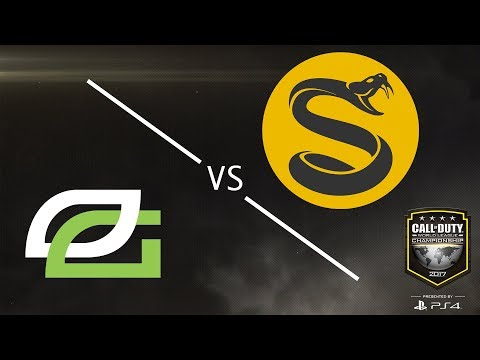 Splyce vs Optic Gaming - CWL Championship 2017 - Day 4