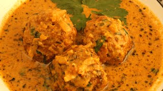 Hara Kofta Dahi Masala Curry