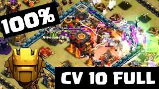 Clash of Clans - Liga TITAN 100% WAR| Titan League CV 10