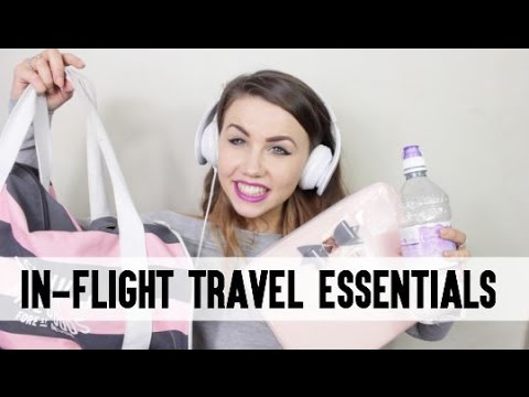 In-Flight Travel Essentials for Summer Holidays ✈️☀️ | CopperGardenx