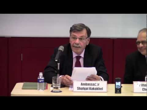 South Asia's Environmental Challenges and Possible Responses - Part 1 (18 Sep 2012)