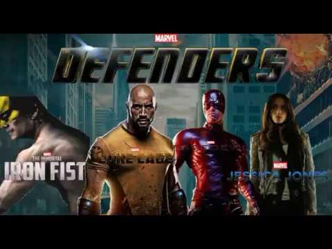 THE DEFENDERS   2018 Netflix Series