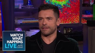 Andy Cohen And Mark Consuelos Compete For Kelly Ripa's Friendship | WWHL