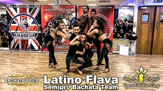 Latin Dance Performance by Latino Flava Semi-Pro Bachata Team at Bachata Spice / Flow Dance London