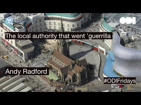 Friday lunchtime lecture: The local authority that went 'guerrilla'