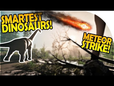 SMARTEST DINOSAURS EVER - GIANT METEOR STRIKE - Collision Course Gameplay Part 1 - DINOSAUR SURVIVAL