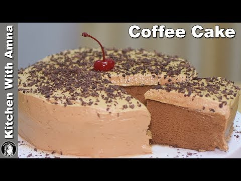 coffee-cake-without-oven---soft-coffee-sponge-cake-recipe---kitchen-with-amna