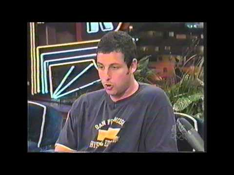 Adam Sandler Interview - The Tonight Show with Jay Leno - June 17th, 1999